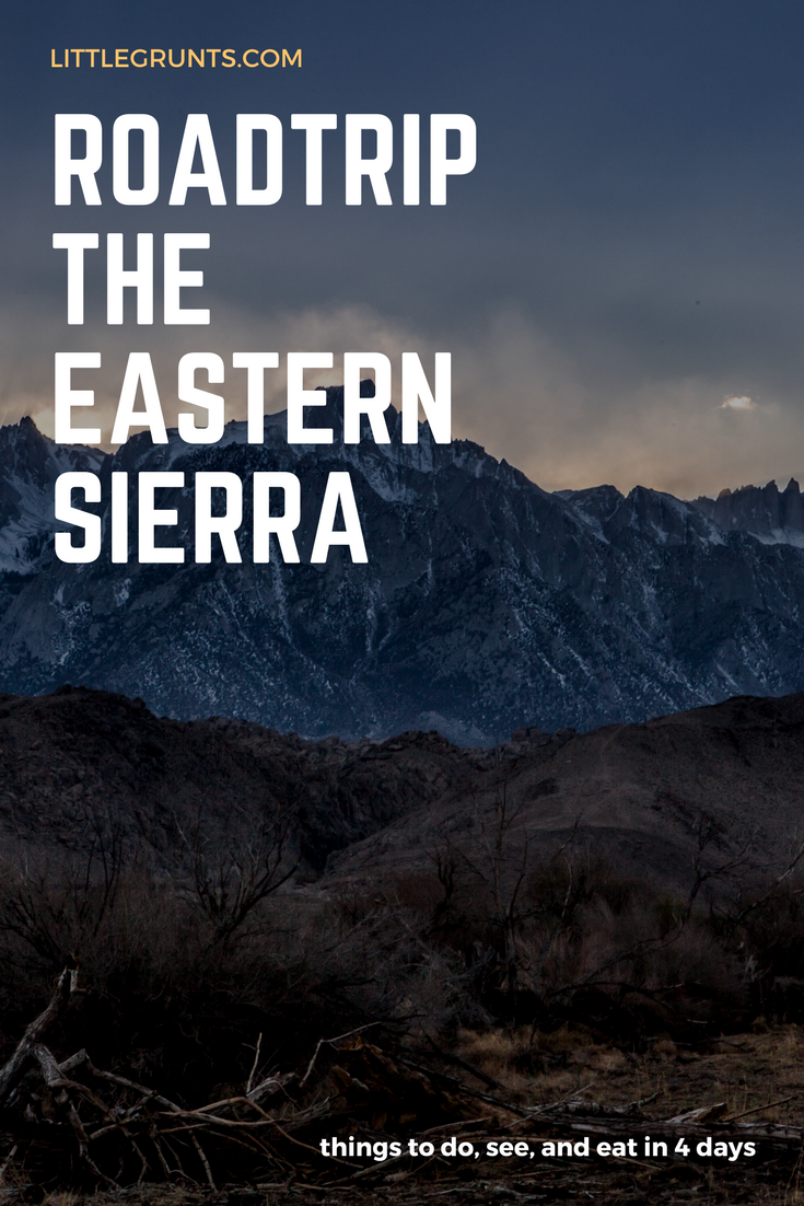 Eastern Sierra road trip recommendations