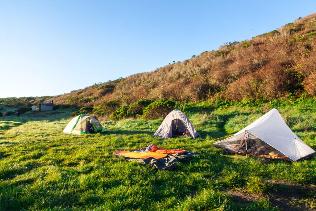 Backpacking Point Reyes Coast Camp