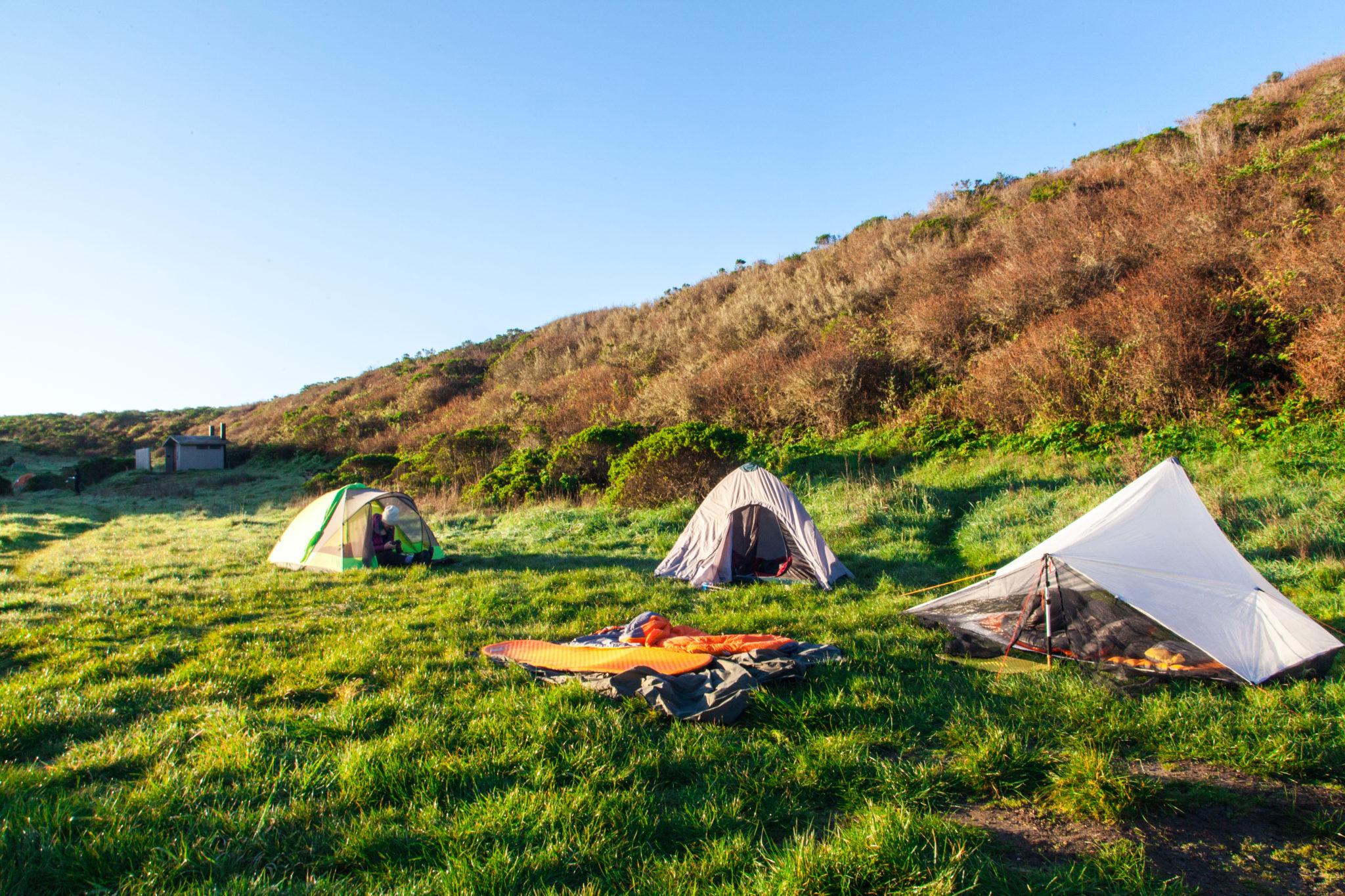 Backng Point Reyes Coast Camp