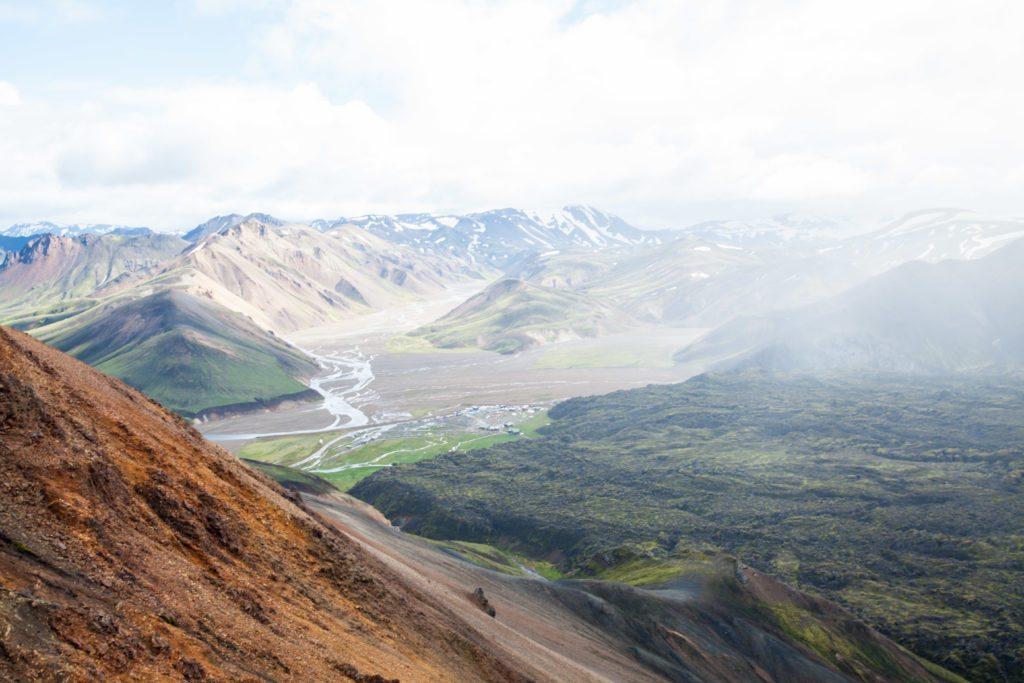Hiking Landmannalaugar Iceland