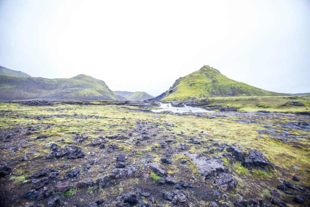 Laugavegur trail, Hvanngil to Thorsmork