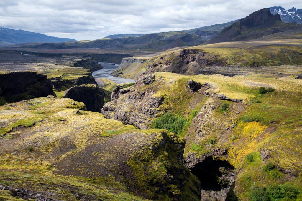 Laugavegur Trail, Hvanngil to Thorsmork, Volcano Huts