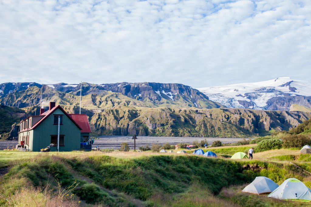 Backpacking the Fimmvörðuháls Langidalur Hut