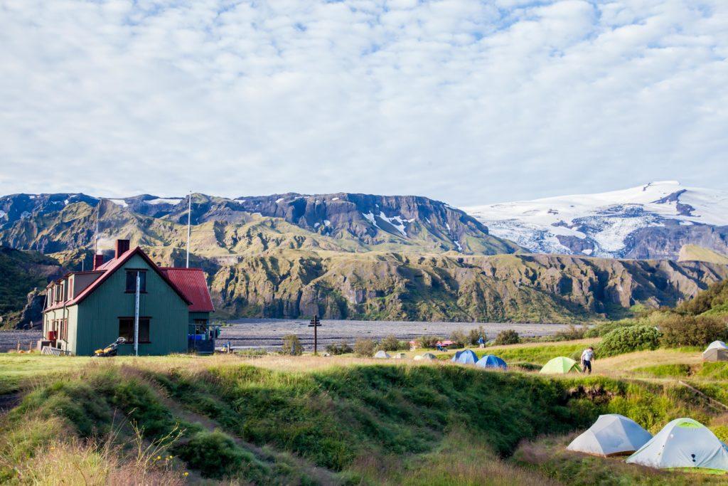 Backpacking the Fimmvörðuháls Langidalur Hut