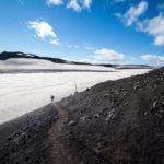 Hiking the Fimmvörðuháls