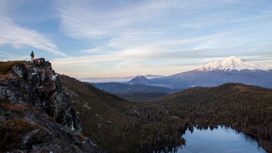 Hiking Heart Lake, Mount Shasta