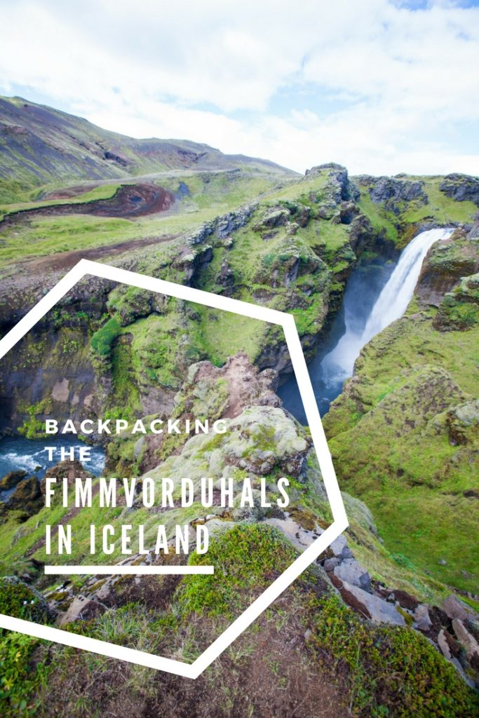 Backpacking the Fimmvörðuháls Iceland