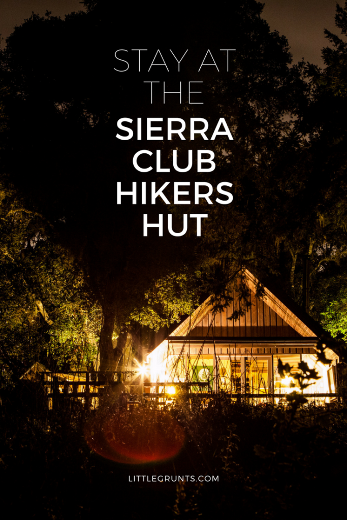 Sam McDonald Sierra Club Hiker's Hut