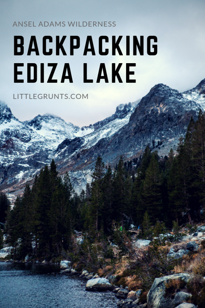 Backpacking Ediza Lake