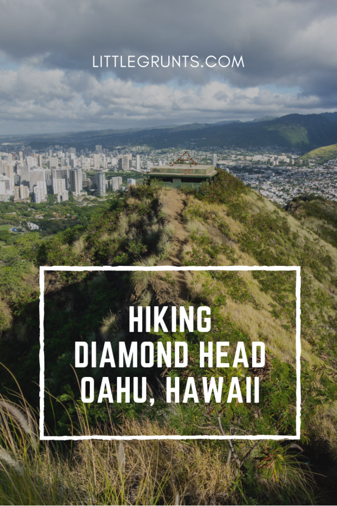 Hiking Diamond Head, Oahu, Hawaii