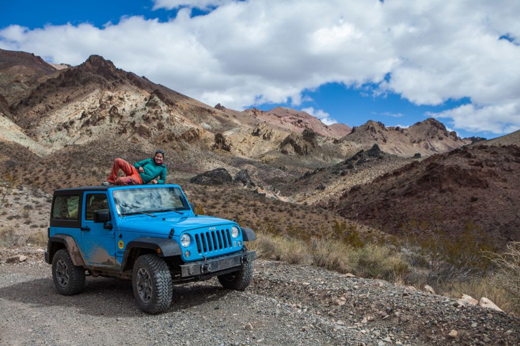 Renting a Jeep with Farabee Jeeps in Death Valley