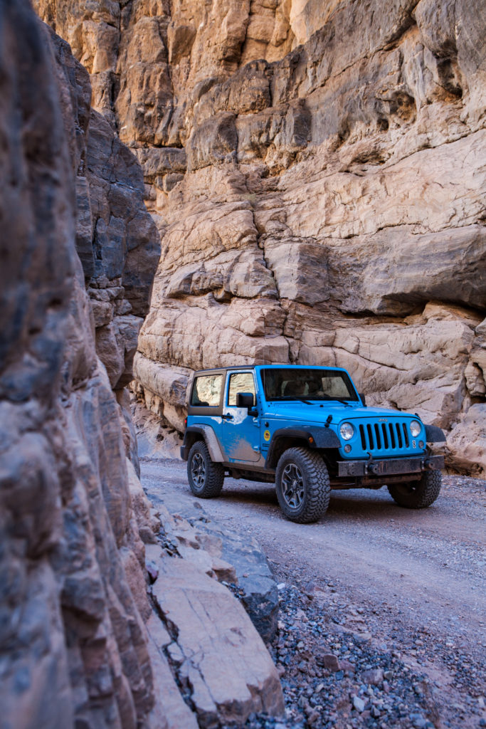 Renting a Jeep from Farabee Jeeps, Death Valley