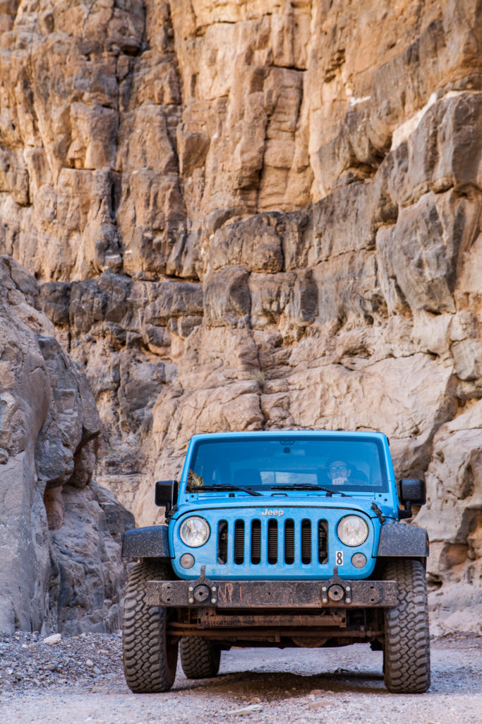 Renting a Jeep from Farabee Jeeps to Explore Death Valley