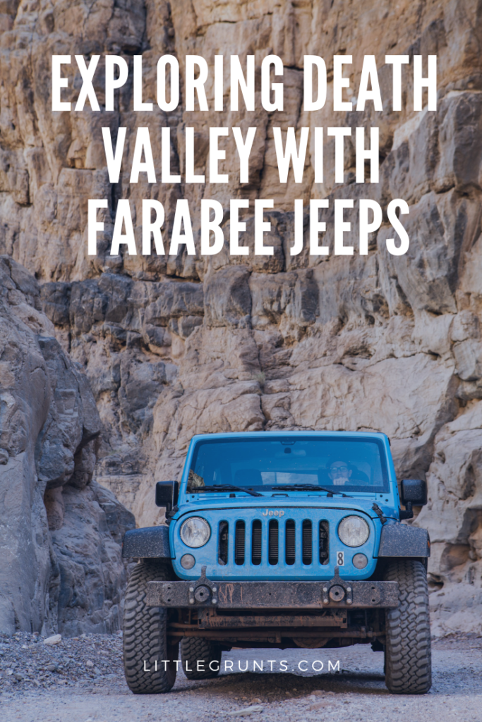 Exploring Death Valley with Farabee Jeeps